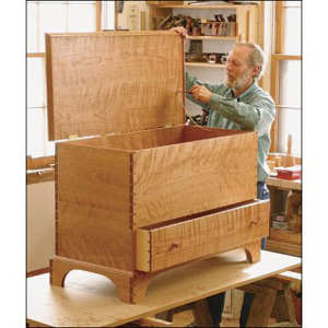 Shaker blanket chest plan woodworking plans for Hope chest plans pdf