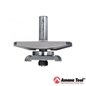 Amana 3-3/8 in. Traditional Raised Panel Bit with Back Cutter 104201
