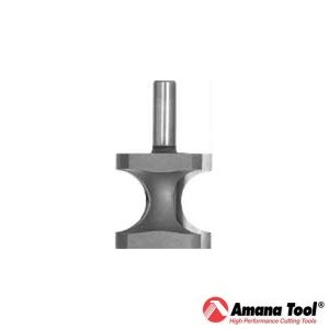 Amana 9/16 inch Bullnose Router Bit - 1/2 inch Shank
