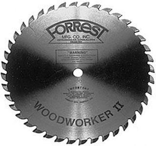Forrest Woodworker II Saw Blade 192819