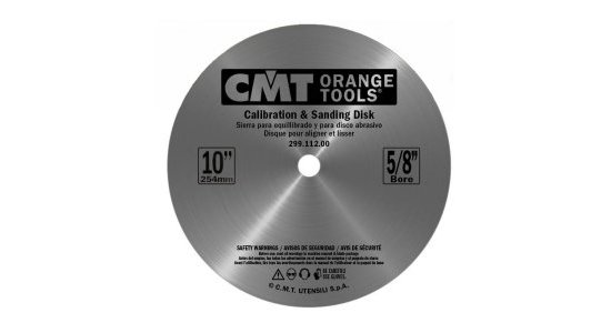 CMT Balance Blade and Sanding Disk