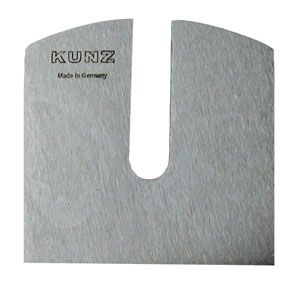 Kunz Adjustable Throat Spokeshave Replacement Cutter 433906