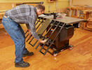 SawStop Folding Outfeed Table Assembly