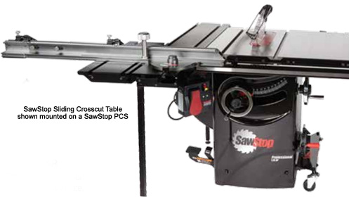 SawStop Sliding Crosscut Table