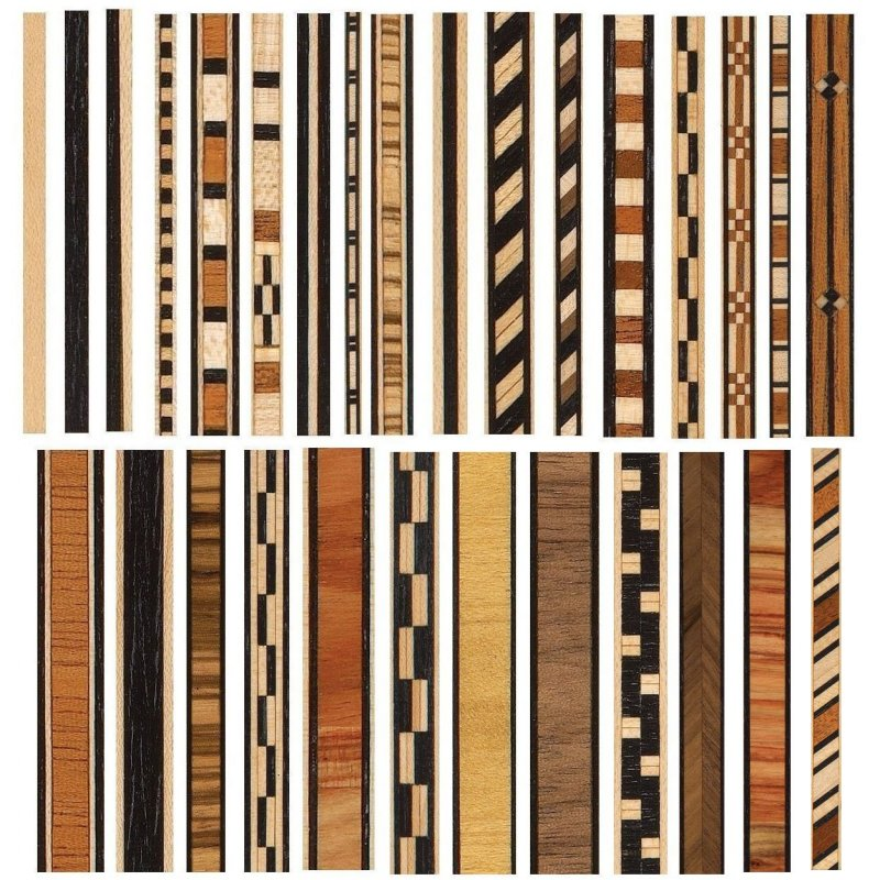 Veneer Inlay Strips Pk 2