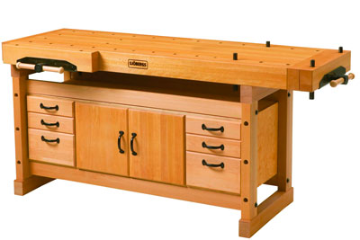 Sjobergs Elite Workbench with Cabinet 115001 115002
