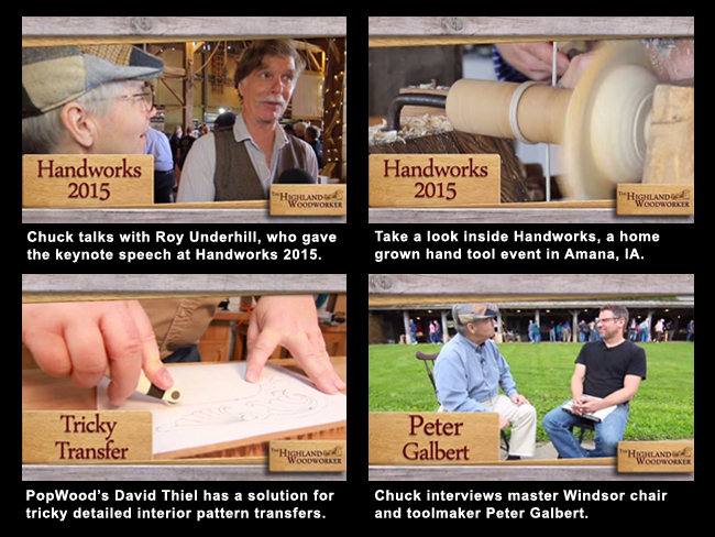 Woodworking Web TV - July 2015