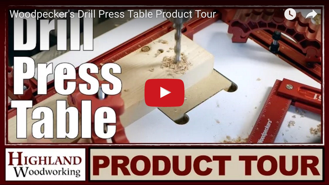 Woodpecker's Drill Press Table