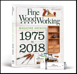 Fine Woodworking Magazine Archive 1975-2018 FLASH DRIVE