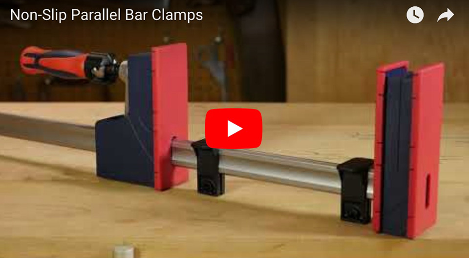 Non-Slip Parallel Bar Clamps