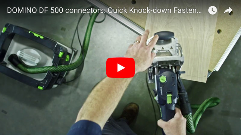 Festool Domino Knockdown Fasteners