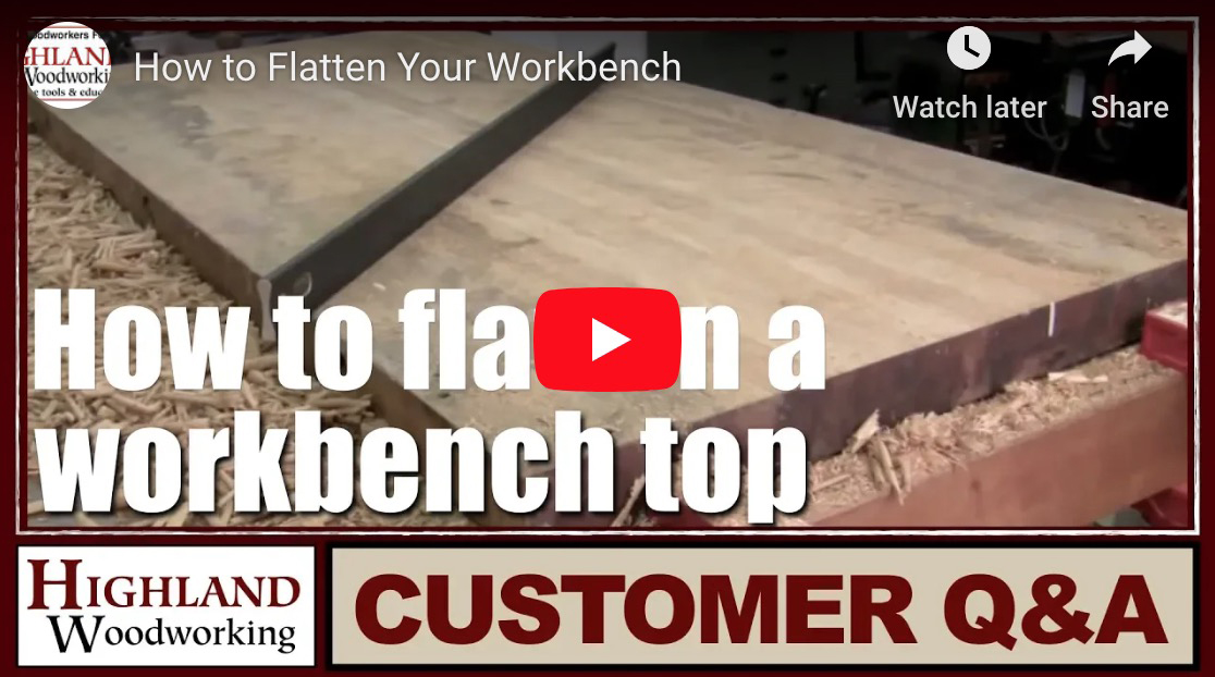 Flatten a Workbench video
