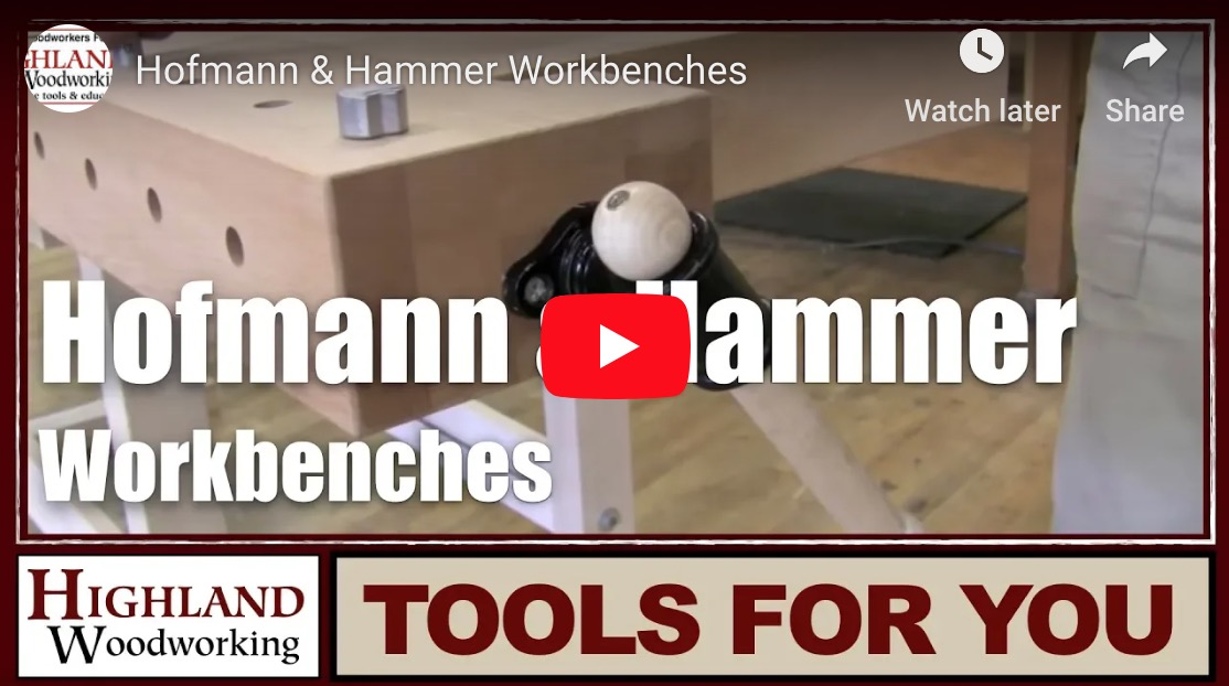 Hofmann & Hammer Workbenches video