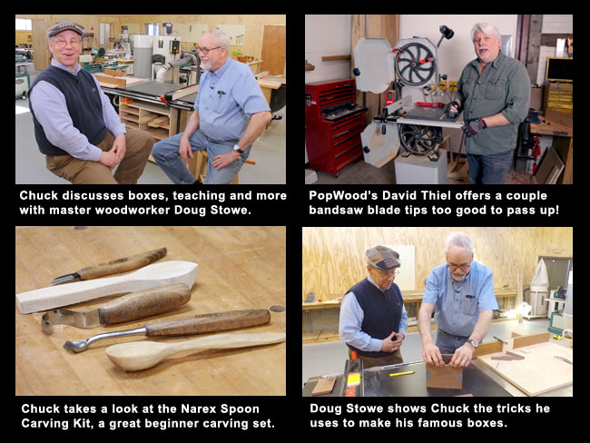 Woodworking Web TV - May 2018