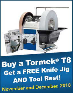 Tormek T-8 Savings