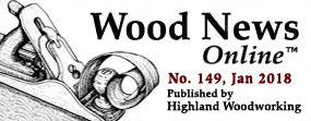 January Wood News banner