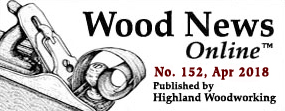 April Wood News banner