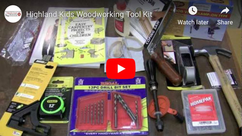 Kids Woodworking Toolkit