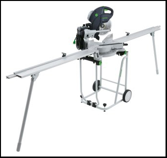 Festool Kapex KS 120 REB Miter Saw with Stand and Extensions