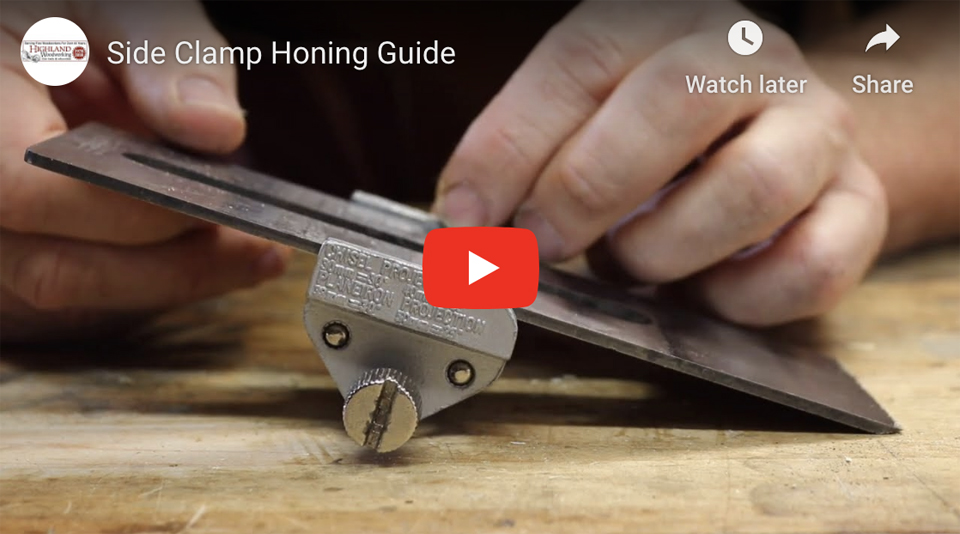 Side Clamp Honing Guide