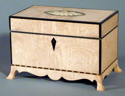 Creating Classic Inlay Furniture Elements – Shell Paterae
