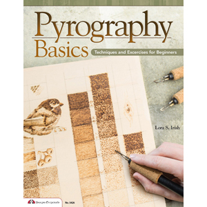 Pyrography Basics - Techniques and Exercises for Beginners 205778