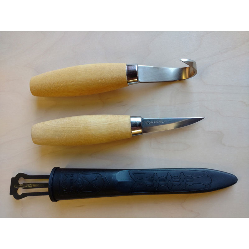Carving Knives Product: Morakniv Wooden Spoon Carving Set