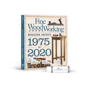 Fine Woodworking  Magazine Archive 1975-2020 FLASH DRIVE 220256