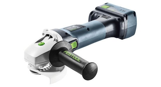 Festool AGC 18 Cordless Angle Grinder with Standard Protective Cover
