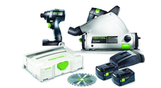 Festool 18v Cordless Combo Kit - TID 18 + TSC 55