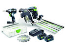 Festool 18v Cordless Combo Kit - TID 18 + HKC 55