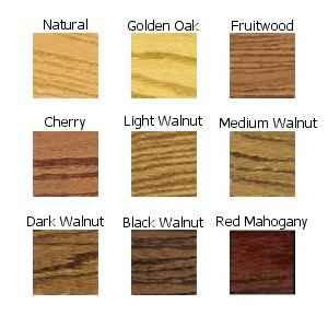 Watco Danish Oil Color Chart