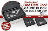 Woodpeckers OneTime Tool - Gauge Blocks