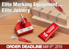 Woodpeckers OneTime Tool - Joiner's Marking Gauge and Dovetail Markers