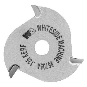 Whiteside 3-Wing Slot Cutter