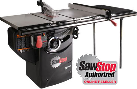 Sawstop Tablesaws Safest Table Saw