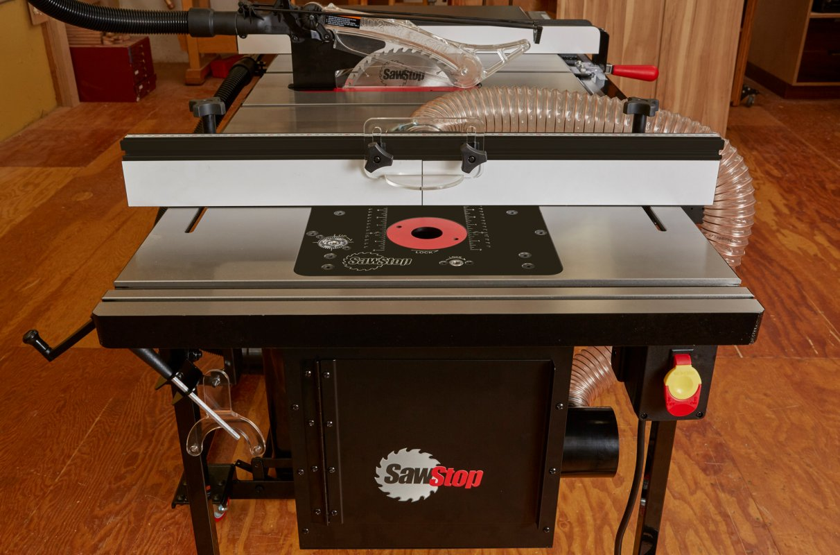 Sawstop in line router table attachment for table saws greentooth Image collections