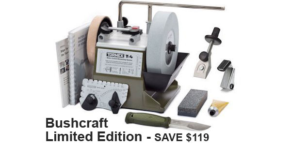 Tormek T-4 Sharpening System - Bushcraft Limited Edition