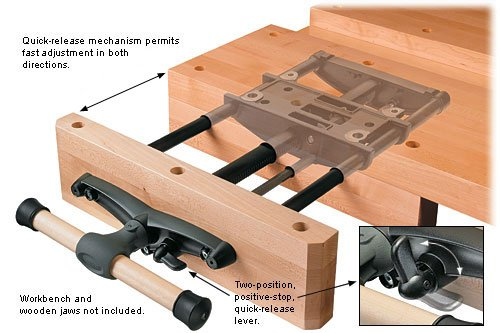 Veritas Quick Release Front Vise Workbench Vises