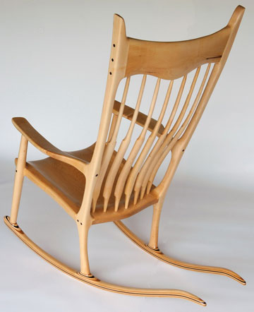 maloof inspired rocker builders