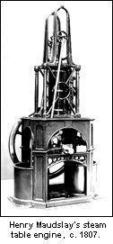 Maudslay Steam Table Engine