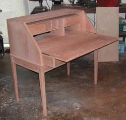 Secretary Desk by L. Johnson