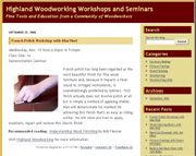 Highland Woodworking Blogs