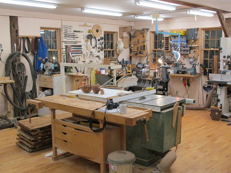 Michael Foster Woodworking Workshop