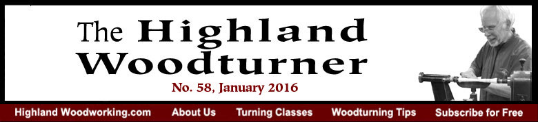 January 2016 Highland Woodturning News