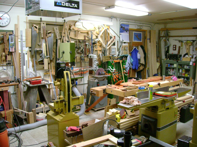 Woodworking Workshop Gary Porter