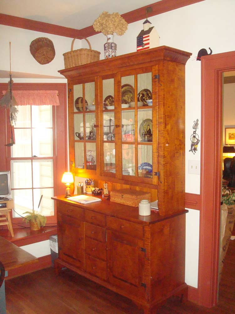 Pennsylvania Step Back Cupboard Kerry Lancaster