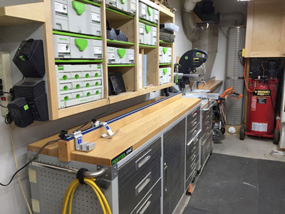 Show Us Your Festool Shop