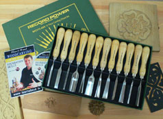 Record Power 12-Piece Carving Chisel Set