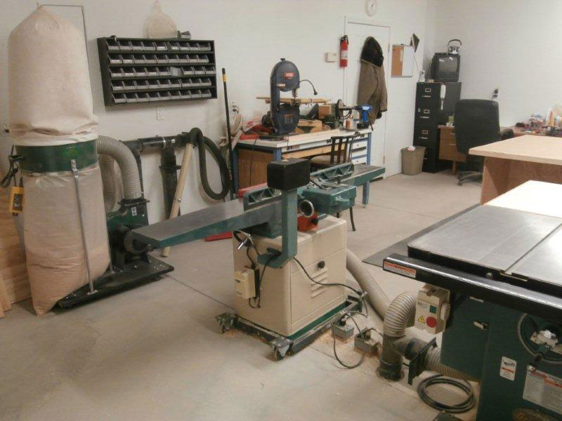 Woodworking Workshop Chuck Johnson